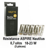 NAUTILUS ASPIRE BVC 0,7 oHm