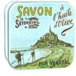Boite Métal 100 g Le Mont Saint Michel