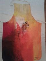 Kochschürze abstrakt