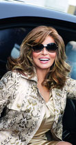Perruque Los Angeles - Monofilament sur raie -   Raquel Welch