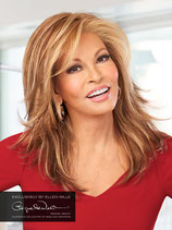Perruque Florida - Monofilament + tresses - Raquel Welch