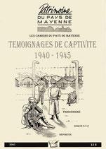Témoignage de captivité 1940-1945