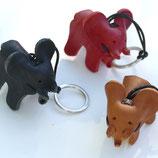 Leder Elefant Schlüsselanhänger