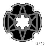 Adaptateur pour moteur Simu/Somfy - Tube ZF45