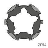 Adaptateur pour moteur Simu/Somfy - Tube ZF54