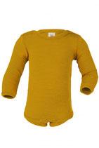 Engel Body langarm Wolle/Seide mit Druckknöpfen an den Schultern