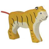 Holztiger Tiger stehend
