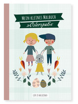 Life is delicious Kleines Malbuch Osterspaß