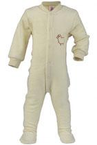Engel Schlafanzug Wollfrotte mit Fuß