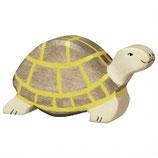 Holztiger Schildkröte braun