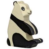 Holztiger Pandabär