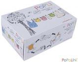 """Popolini """"popli"""" Windeleinlagen aus Viskose Box 100 Blatt"""