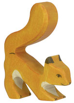 Holztiger Eichhörnchen