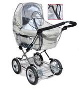 AsMi Regenhaube für Kinderwagen mit Reißverschluss