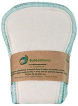 BabeeGreens Bio-Baumwolle Doublers, 6er-Pack