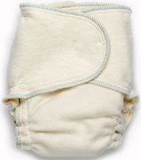 BabeeGreens Growing Greens Hanf One-Size Fitted Cloth Diaper
