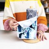 PREORDER Marley's Monsters SET 24 Wisch&Wasch-Küchentücher auf einem Halter gerollt