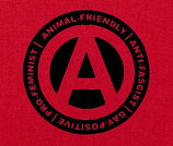 Animal Friendy Antifascist Gay Positive Pro Feminist