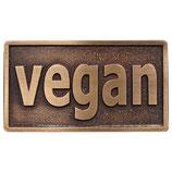 """Gürtelschnalle """"vegan"""""""