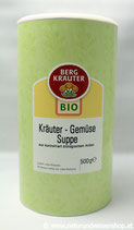 Gemüse- Kräutersuppe BIO