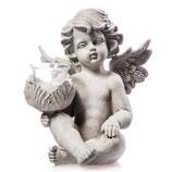RING511 Engel Figur mit Glaslicht