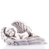 RING517 Engel Figur liegt