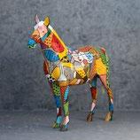 3270 VH Pferde Figur lebensgroß Deko Garten Gastro Werbe Figur