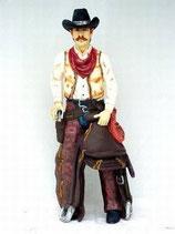 90996 Cowboy Figur lebensgroß