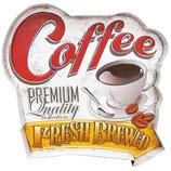RIMP104 Blechschild Werbeschild Coffee Gastrodeko