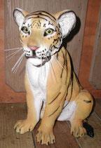 132150 Tiger Baby Figur Lebensgroß