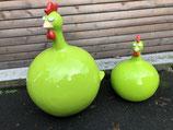 RIC368L369L Dekofigur Huhn  groß und klein Set