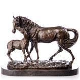 RIYB317 Bronzefigur Pferde