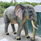 RIJ2020 Elefant Figur lebensgroß stehend