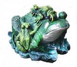 131350 Frosch Figur mit Kindern