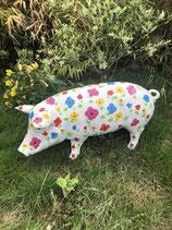 RIMC62 Schwein Figur groß bunt