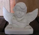90440 Engel Figur mit Doppelteelicht