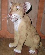 132140 Löwe Baby Figur Lebensgroß