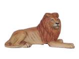 132010 Löwe liegt Figur Lebensgroß