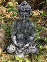 RIEG13B Buddha Figur Steinfarben