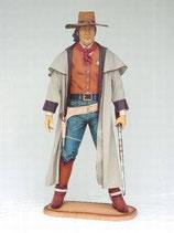 90997 Cowboy Figur lebensgroß