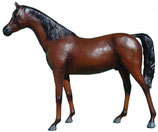 GBC004 Pferde Figur lebensgroß