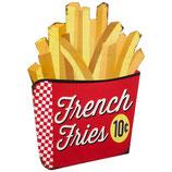 RIMP102 Blechschild Werbeschild French Fries Gastrodeko
