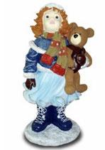 151040 Winterkind Figur Mädchen