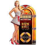 RIMP109 Blechschild Werbeschild Rock & Roll Musicbox Gastrodeko
