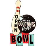 RIMP126 Blechschild Bowling  Gastrodeko