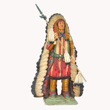 90995 Indianer Häuptling Figur lebensgroß