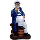 RIM164 Kapitän Figur lebensgroß Maritime Figur