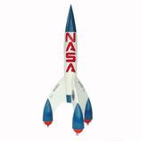 91060 Rakete Figur lebensgroß