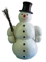 RIE32 Schneemann Figur für Weihnachtszeit und Winterzeit