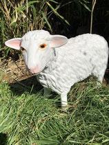 122030 Schaf Figur steht (klein) Deko Garten Tier Werbe Figur
